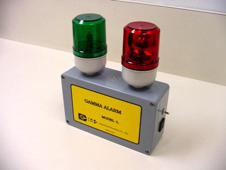 Gamma Alarm Model L Industrial Nuclear Co Inc